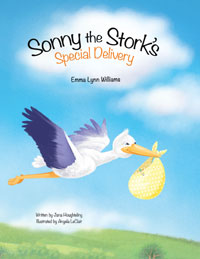 Sonny the Stork's Special Delivery